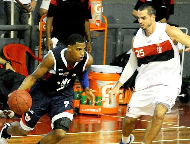 basquete Flamengo x Franca NBB (Foto: Alexandre Vidal / Fla Imagem)