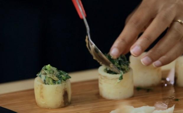 Bela Cozinha - Ep. 8 - nabo recheado com caruru (Foto: Reproduo / GNT)