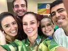 Rio 2016: famosos marcam presença na Olimpíada torcendo para o Brasil