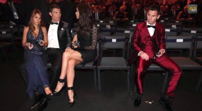 Meme Cristiano Ronaldo Messi Bola de Ouro