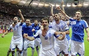 Comemoração da Grécia (Foto: Agência EFE)
