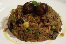 'Que Marravilha!' - arroz de pato com funghi e macadâmia