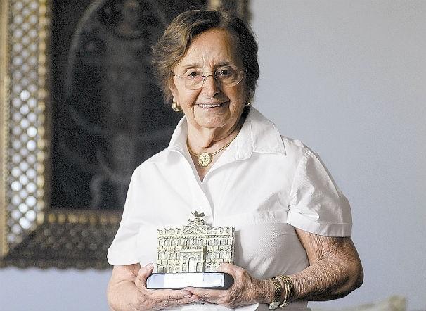 Dona Maria Antonietta Lindenberg (Foto: Tv Gazeta)