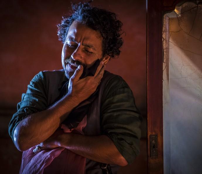 Marcos Palmeira dá vida a Cícero (Foto: Inácio Moraes/ Gshow)