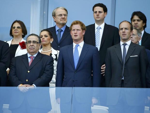 Príncipe Harry acompanha partida da Inglaterra em Belo Horizonte (Foto: Agência Reuters)