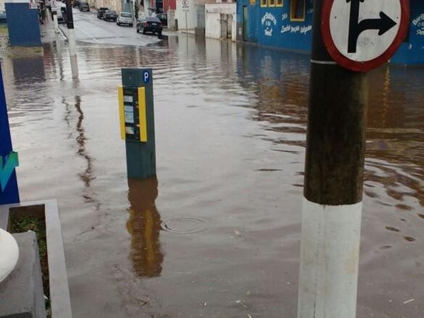 Em uma hora choveu metade do esperado em março, diz Defesa (Foto: Arquivo Pessoal/ Caio Camargo)