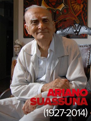 Morre o escritor Ariano Suassuna, aos 87 anos, no Recife (Alexandre Belém/Estadão Conteúdo)