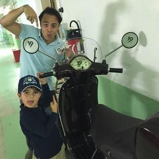 Felipe Massa Felipinho Daniel Ricciardo F1 (Foto: Reprodução/Instagram)
