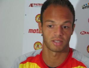 Carlão - atacante do Atlético Sorocaba (Foto: Rafaela Gonçalves / GLOBOESPORTE.COM)