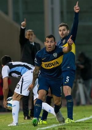Carlos Tevez Boca Juniors Banfield (Foto: AFP)