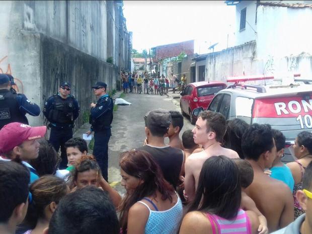 Polícia Militar não soube informar se o adolescente era usuário de drogas (Foto: Leandro Silva/TV Verdes Mares)