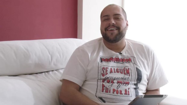 Tiago Abravanel faz teste e descobre seu perfil alimentar ()