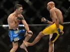 Famosos lamentam derrota e lesão de Anderson Silva no UFC 168