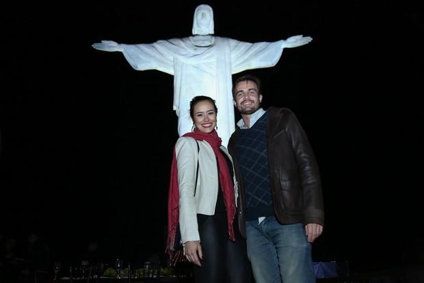 Max Fercondini e Amanda Richter (Foto: Roberto Filho / Brazil News)