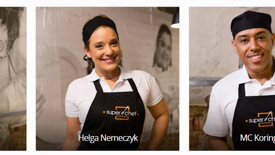 Em clima de descontração, finalistas do 'Super Chef' mandam recado para os concorrentes