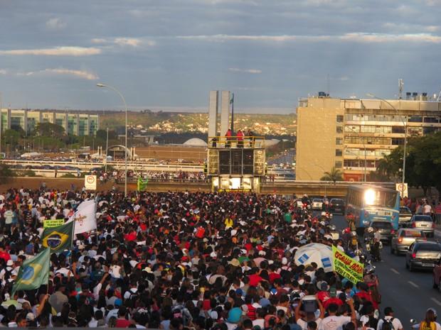 Resultado de imagem para marcha para jesus brasilia g1