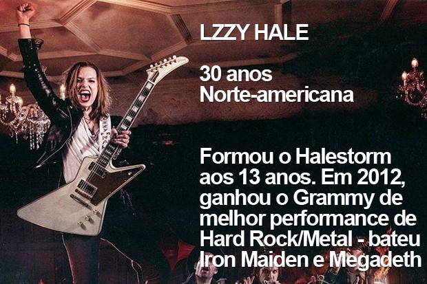 Lzzy Hale (Foto: Divulgação)