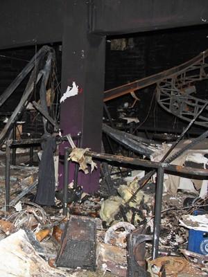 FOTOS: veja novas imagens do interior da boate em Santa Maria (Divulgação/Polícia Civil do Rio Grande do Sul)