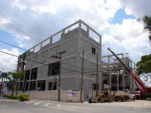 Construção do Shopping Villagio, em Sorocaba (Foto: Divulgação)