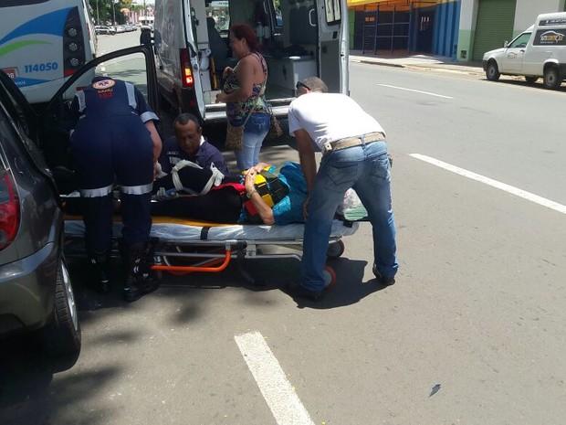 Idoso atropelada Piracicaba (Foto: Wesley Justino/EPTV)