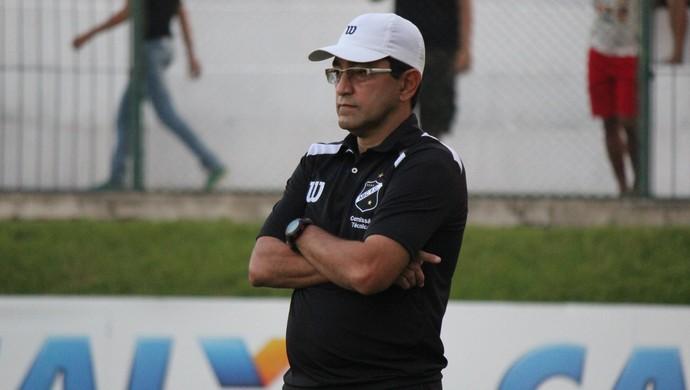 Sérgio China, técnico do ABC (Foto: Diego Simonetti/Blog do Major)