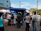 Sebrae móvel estaciona em Praia Grande com serviço de orientação