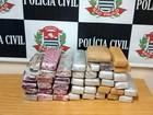 Dupla é presa em Nova Odessa com 35 kg de maconha do Mato Grosso