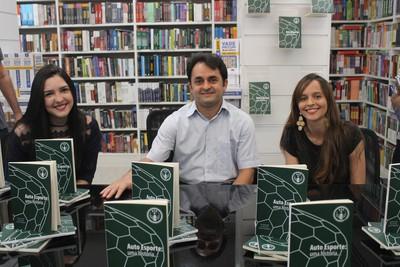 Nina Cunha, Gustavo Said e Tábata Michele - Auto Esporte (Foto: Ramiro Pena/GLOBOESPORTE.COM)