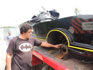 batmpovel guinchado, detalhe (Foto: Pedro Carlos Leite/G1)