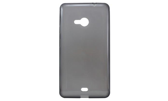 Capa de silicone transparente para Lumia 535 (Foto: Divulgação/ Husky)