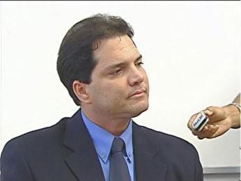 Apresentador Denny Oliveira foi preso na Paraíba (Foto: Reprodução / TV Globo)