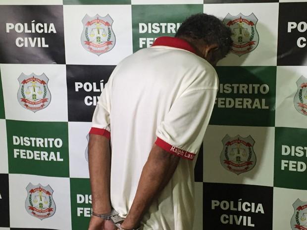 Homem preso suspeito de estuprar filha e netas (Foto: Gabriel Luiz/G1)