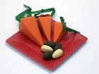 Páscoa criativa: 'cenoura' para colocar chocolate é opção barata e divertida