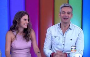 Maíra Charken vai dividir a bancada do Video Show com Otaviano Costa a partir de março (Foto: Reprodução/Globo)