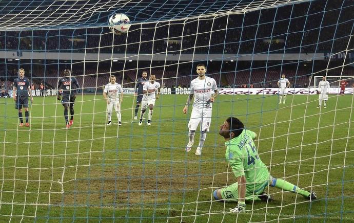 Icardi, Napoli x Inter (Foto: Agência Reuters)