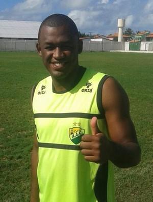 Jeferson, goleiro do Coruripe (Foto: Divulgação/Coruripe)