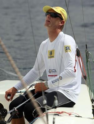 Robert Scheidt disputa campeonato italiano na classe Laser (Foto: Divulgação)