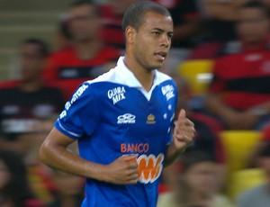 Mayke, lateral Cruzeiro (Foto: Reprodução /Sportv)