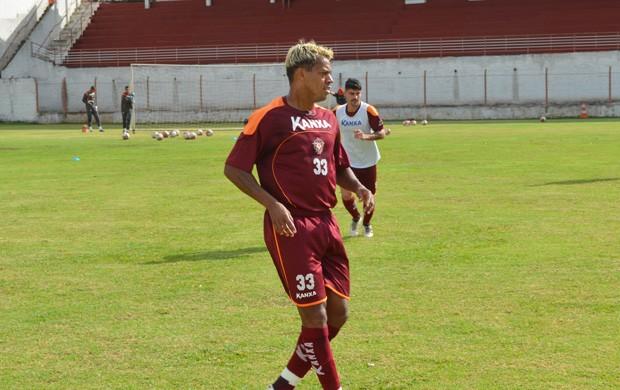 Com 3 gols em 3 jogos na Taça MG, Marcelinho Paraíba é destaque do Boa. (Foto: Tiago Campos / Globoesporte.com)