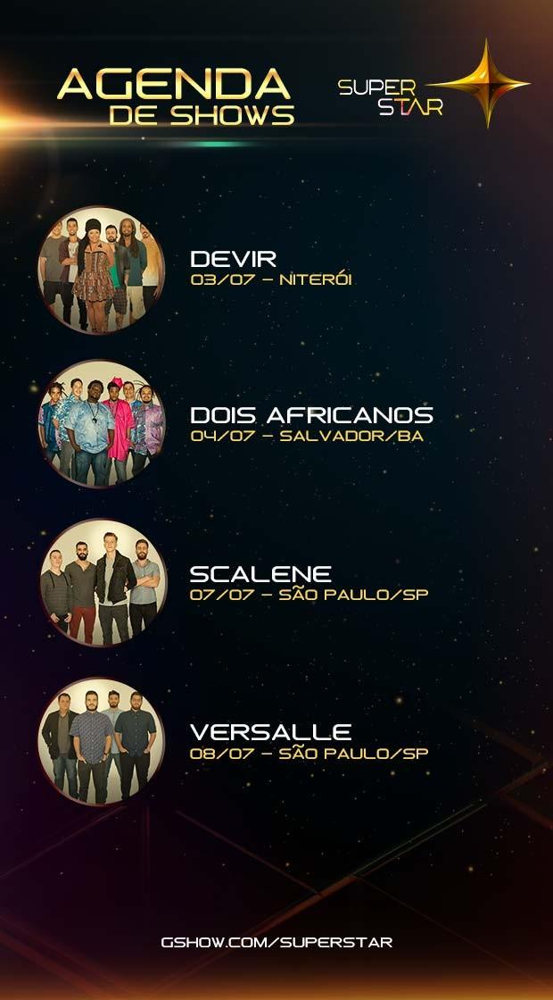 agenda-de-shows-bandas-superstar (Foto: superstar)
