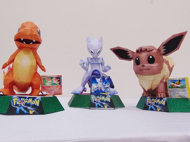 Pokémon é tema de exposição em shopping de Salvador (Foto: Divulgação)