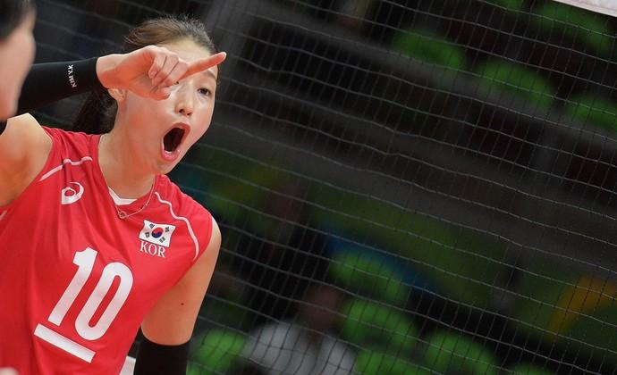 Kim Yeon-Koung Coreia vôlei (Foto: Divulgação/FIVB)