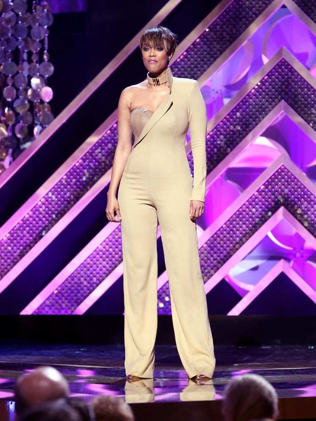 Tyra Banks no Daytime Emmy Awards (Foto: Getty Images)