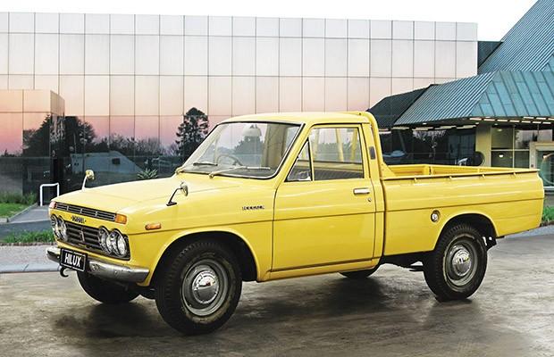 A primeira geração da Toyota Hilux foi lançada em 1968 (Foto: Divulgação)
