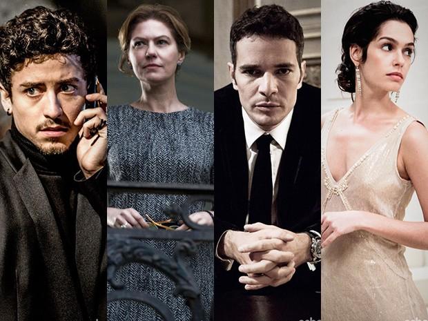 montagem dos personagens de o rebu (Foto: O Rebu/TV Globo)