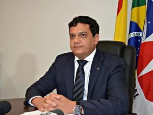 Presidente da OAB, seccional Acre, Marcos Vinícius Jardim, disse que procedimento será instaurado para apurar conduta do advogado (Foto: Caio Fulgêncio/G1)