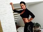 Gracyanne Barbosa lança coleção de moda fitness com seu nome