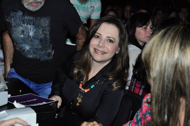 Noely, mãe de Sandy (Foto: Roberto Teixeira/EGO)