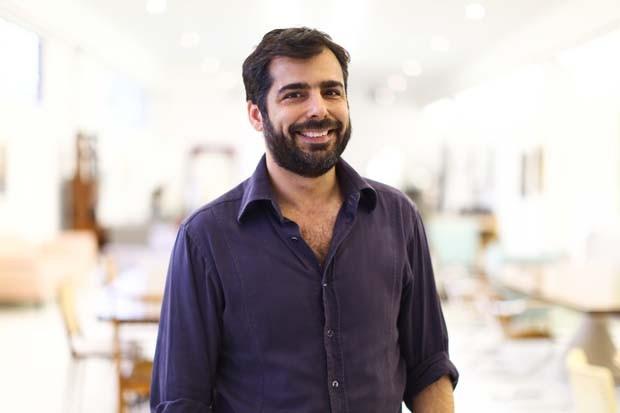 O galerista Thomaz Saavedra (Foto: Divulgação)