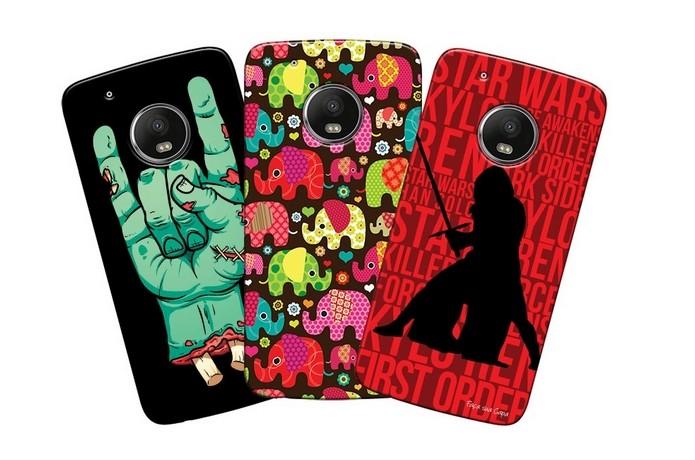 Capas personalizadas com desenho para Moto G5 Plus (Foto: Divulgação/Matecki)